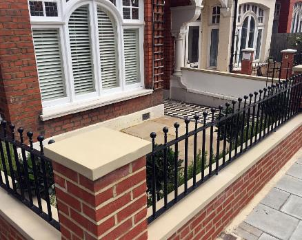 Kensington wall railing
