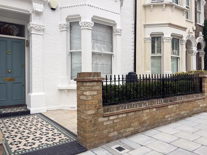 London Garden Wall Builders London Victorian Mosaic Tile