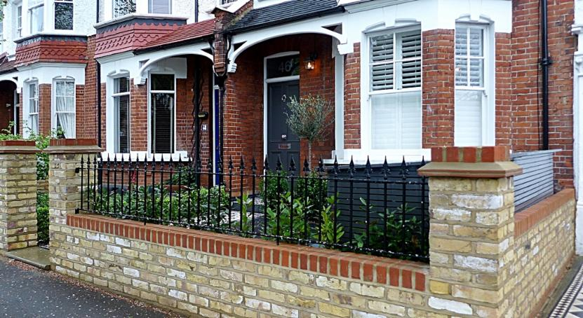 london garden wall builders london victorian mosaic tile